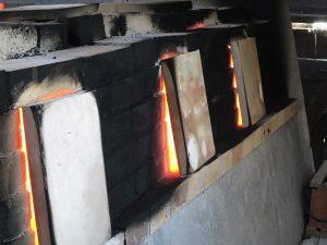 Holzofenbrand 2011